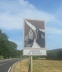 Laguiole Le couteau - Madera Wengué